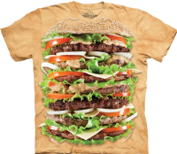 Epic Burger T-shirt | The Mountain® | Novelty T-shirts